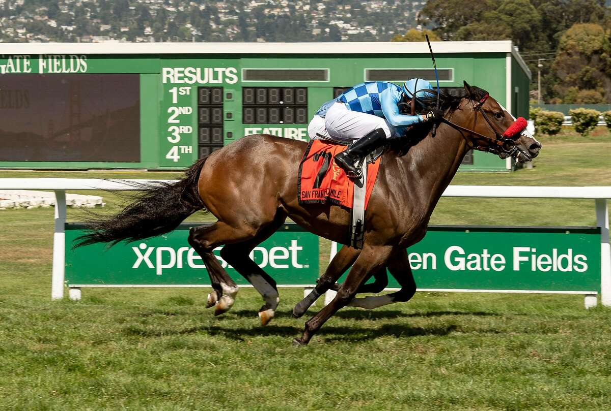 Neptune's Tune wins San Francisco Mile at Golden Gate Fields.