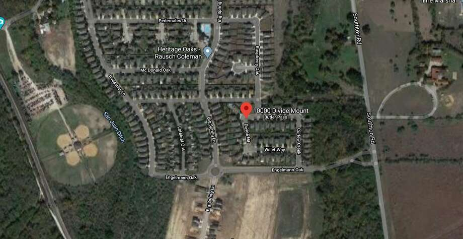 A family gathering on Sunday turned deadly after a child accidently drowned in the pool of a far South Side home, according to San Antonio police. Photo: Google Maps