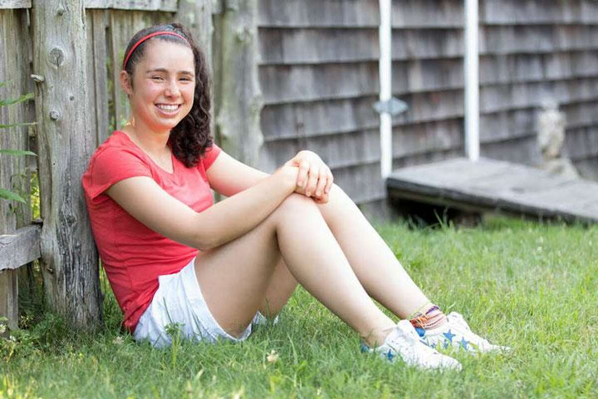 Annabel Roth of Wilton graduated from Greens Farms Academy in Westport on June 4. She was the salutatorian of the Class of 2020, and received numerous awards.