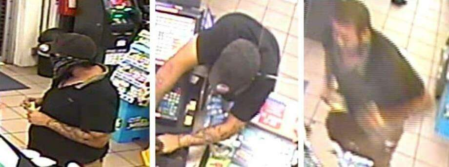 Laredo police said they need to identify this man in relation with a theft. To provide information on the case, call LPD at 795-2800 or Laredo Crime Stoppers at 727-TIPS (8477). Photo: Courtesy Photo /Laredo Police Department