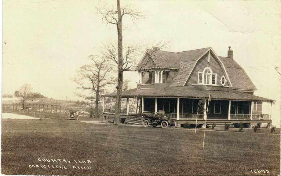 The Manistee Golf and Country Club is shown in this early 1900 photogrpah.