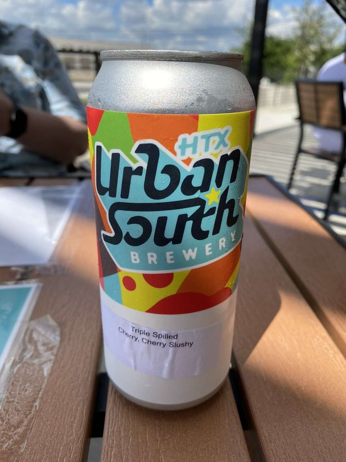 Urban South HTX's Triple Spilled is basically a beer version of a cherry slush. Photo: Justin T./Yelp