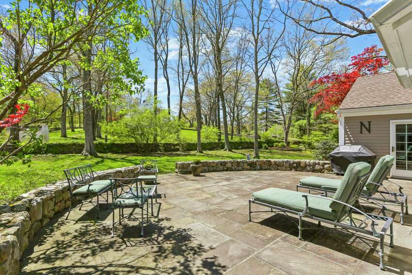 With almost an acre of level land, the homeowners can have vegetable gardens of their own and plenty of space left over for lawn games, sporting activities and entertaining family and friends.