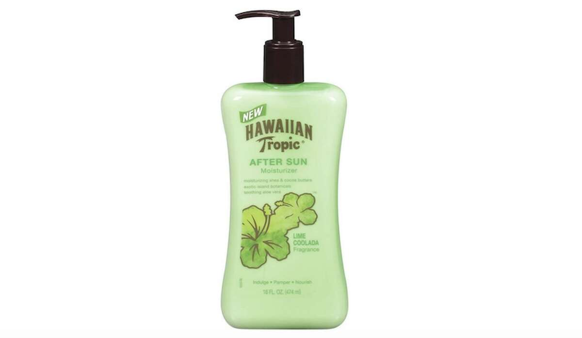 Hawaiian Tropic Lime Coolada After Sun Moisturizer Price: $6.97 (Single) or $13.38 (Two Pack) Is your skin still reeling from a bad sunburn? You can pick up a cheap bottle of Hawaiian Tropic Lime Coolada After Sun Moisturizer for under $7, or two for under $15. The blend of exotic island botanicals, shea and cocoa butters, and soothing Aloe Vera will soothe your damaged skin and help reduce your risk of peeling.