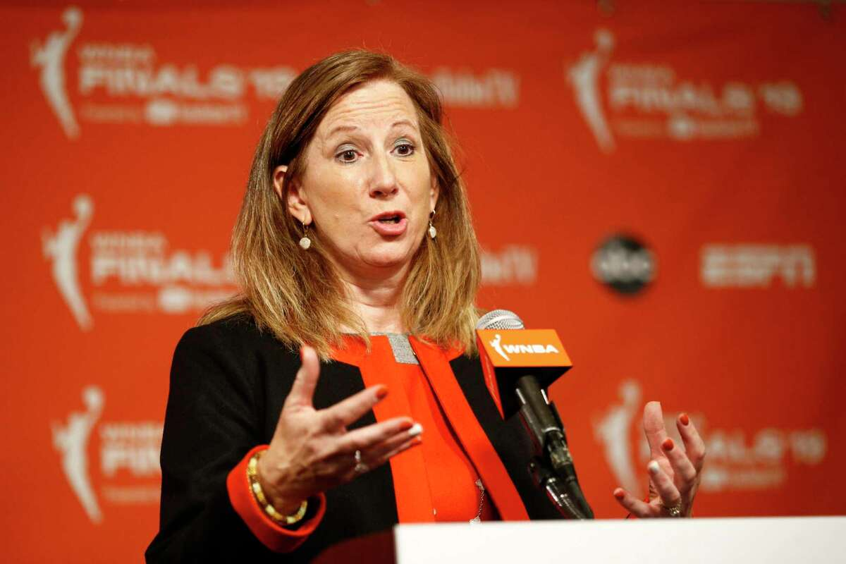 Commissioner Cathy Engelbert and the WNBA announced plans to play a reduced season, with a 22-game schedule that would begin in late July without fans in attendance.
