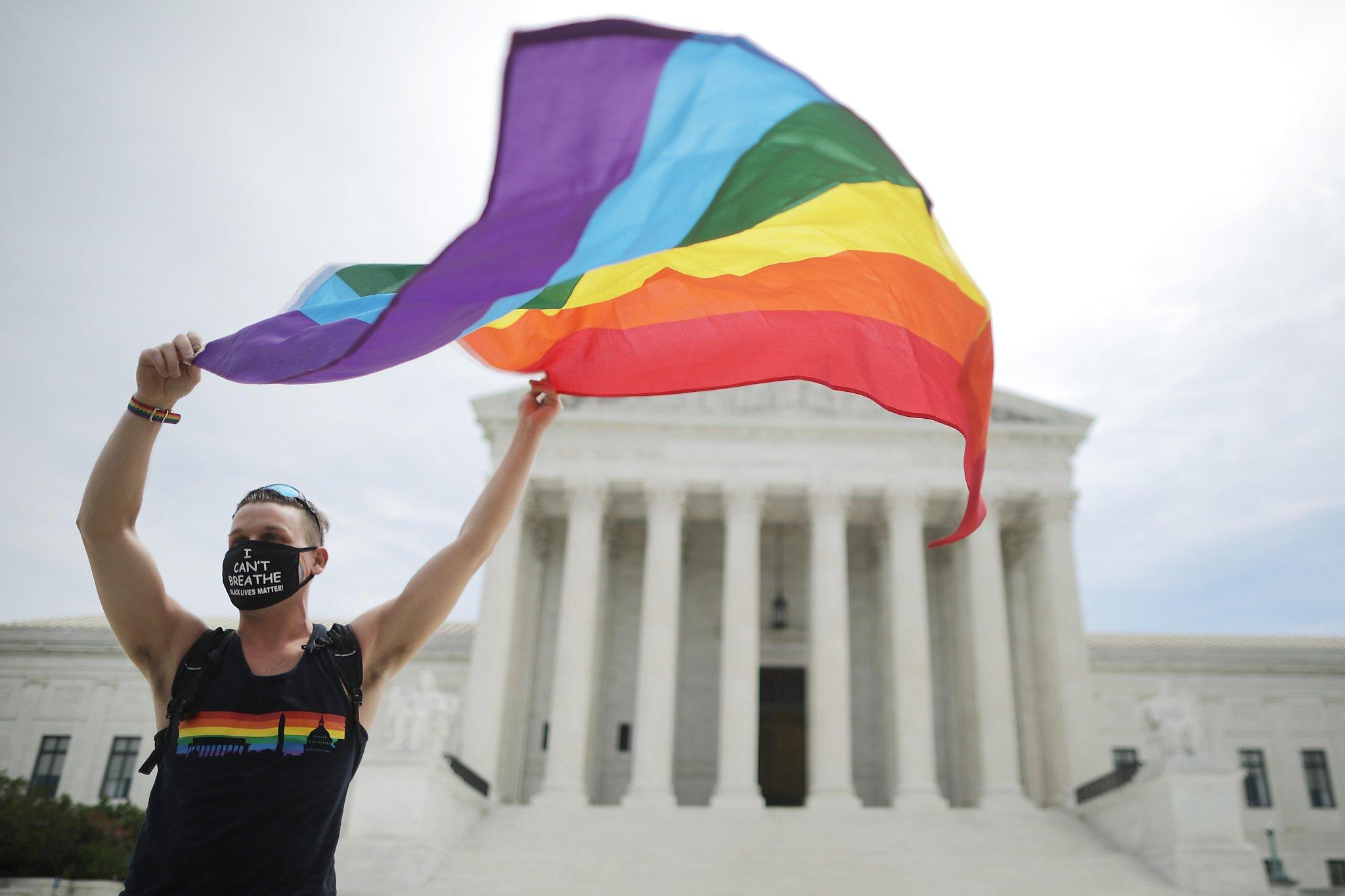 www.sfchronicle.com: GOP Senate sits on broad gay rights bill as high court bans LGBTQ job bias