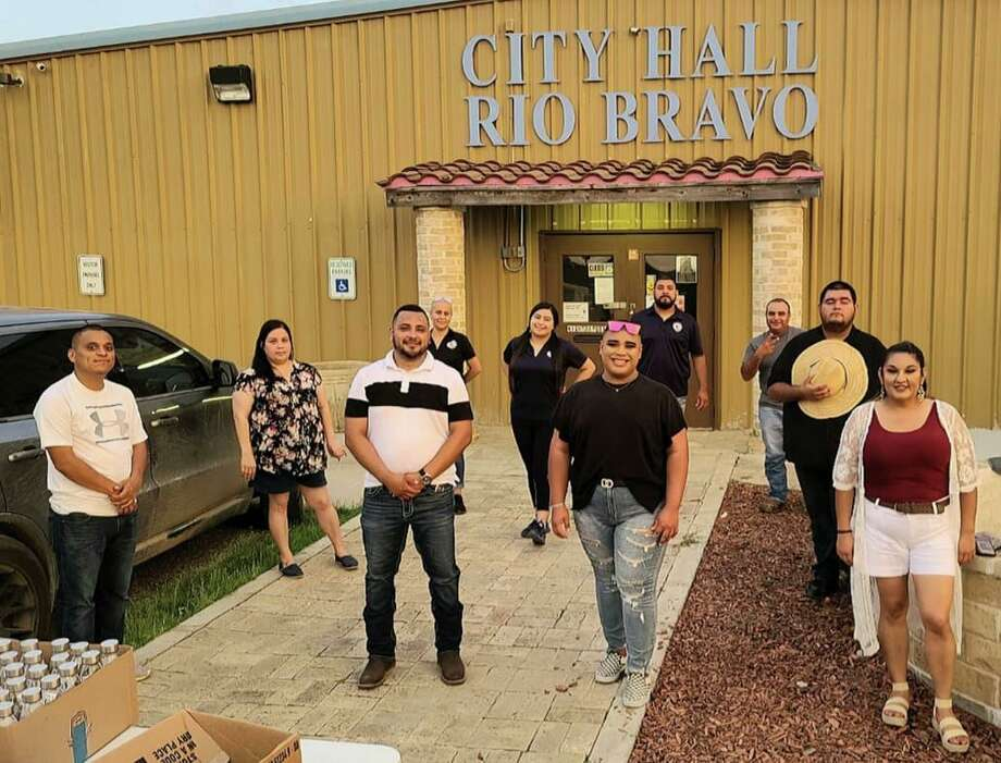 Rio Bravo's 76 graduating high school seniors were celebrated with a parade last week that unfolded throughout the streets of the city. Photo: Courtesy