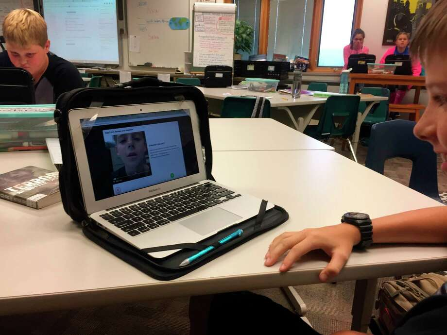 The Kaleva Norman Dickson School District is spending nearly $240,000 in technology updates by purchasing Chrombook laptops, iPads and interactive televisions for use in the classroom. (File photo)