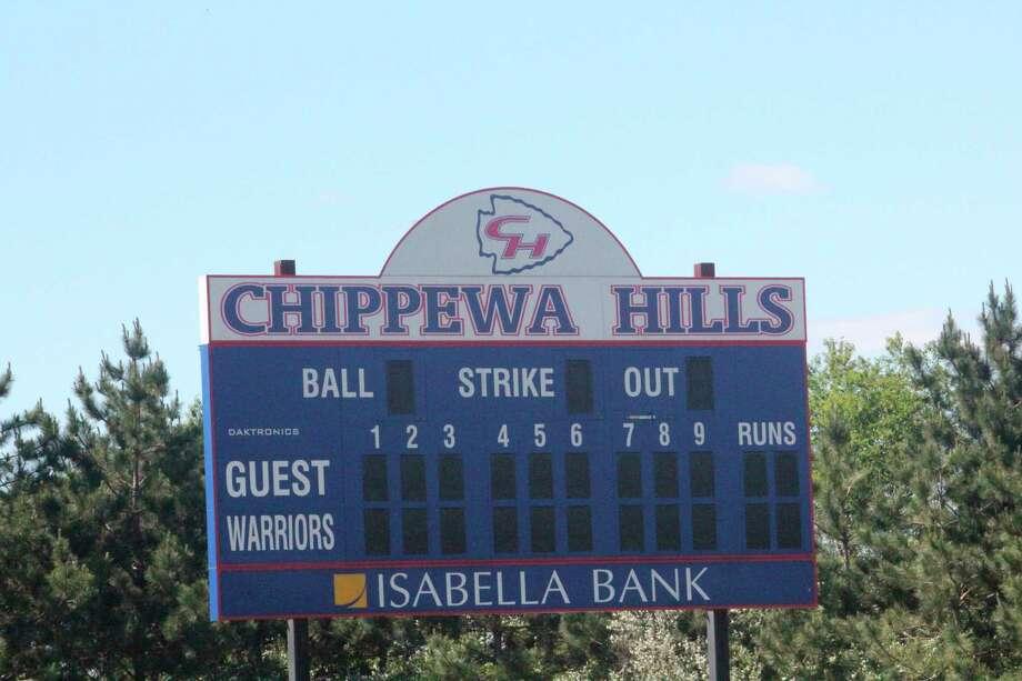 The Chippewa Hills home softball field had a regional title-winning team in 2014. (Pioneer photo/John Raffel)