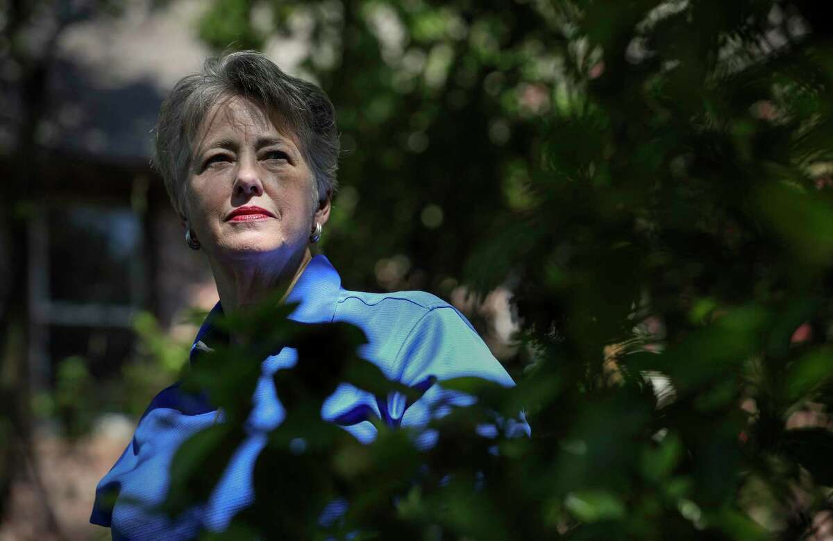 """""""You have the law on your side, but it's only as good as the people who enforce it, and we still don't completely have the law on our side,"""" said Annise Parker, former Houston mayor, as she posed for a portrait Monday, June 15, 2020, in Houston. Parker said she thought Monday's Supreme Court ruling today did not go far enough to protect the rights of LGBTQ people, because it only protects them from workplace discrimination. Parker tried to pass the Houston Equal Rights Ordinance, called HERO, while mayor in 2015. The ordinance would have banned discrimination based not just on gender identity and sexual orientation, but also 13 classes already protected under federal law: sex, race, color, ethnicity, national origin, age, religion, disability, pregnancy and genetic information, as well as family, marital or military status. Voters rejected the ordinance."""