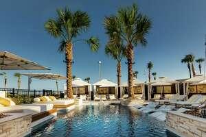 The villas pool atthe San Luis Resort