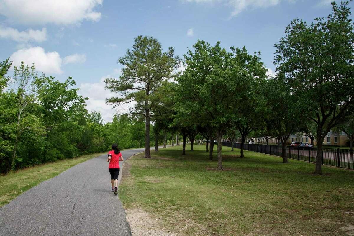 Terry Hershey Park Hike & Bike Trail.