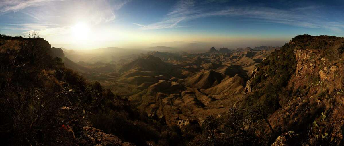 The view from the South Rim at Big Bend National Park