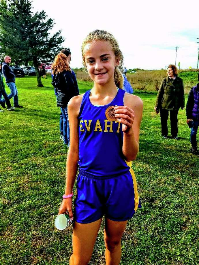 Brianna Cass was a strong runner last season for Evart. (Courtesy photo)
