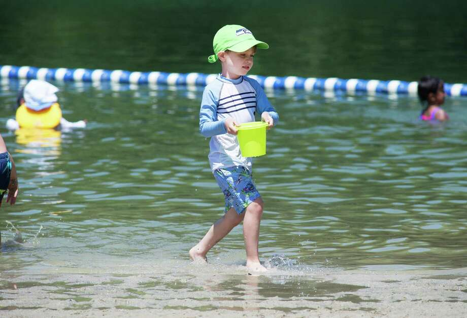 As of June 20, 2020, Merwin Meadows will be open to Wilton residents only at no cost. There will be no lifeguards and swimming is done at your own risk. In addition, there will be no bathhouse, no pavilion, no benches, no picnic tables, no grills, and no playground. Photo: Bryan Haeffele / Hearst Connecticut Media / Hearst Connecticut Media