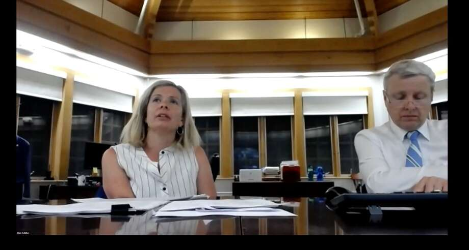 The Board of Ed was able to target additional budget reductions to meet the goal of the Board of Finance. Photo: Darien TV 79