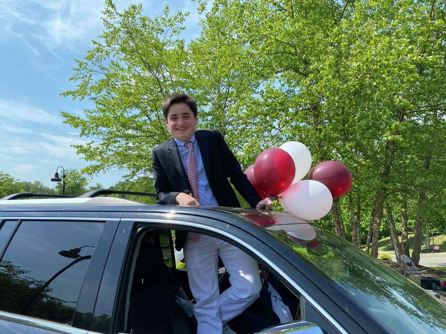 St. Luke's Matthew Stimpson, class of 2024 of New Canaan Photo: Susan Garnett
