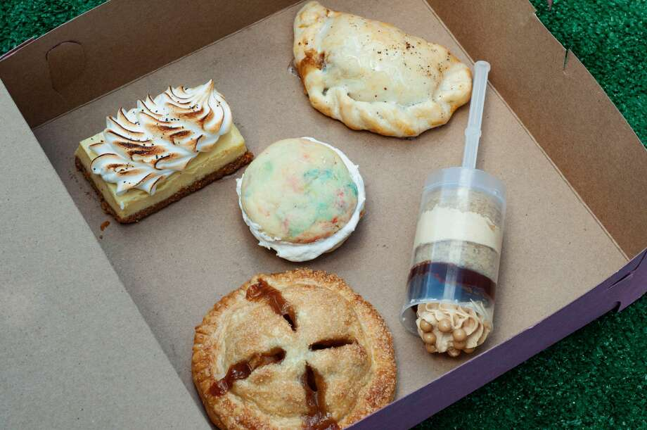 Underbelly Hospitality's dessert pack benefits Pure Justice. Photo: Nuray Taylor