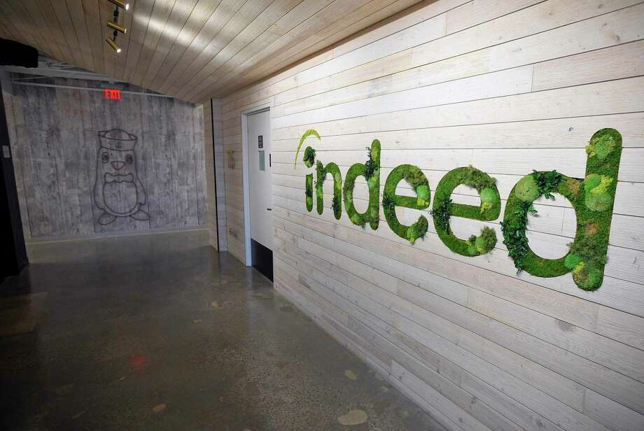 Indeed.com Stamford based offices on July 24, 2019. An American worldwide employment-related search engine for job listings launched in November 2004, a subsidiary of Japan's Recruit Co. Ltd., is co-headquartered in Stamford, Connecticut and Austin, Texas, with additional offices around the world. Photo: Matthew Brown / Hearst Connecticut Media / Stamford Advocate