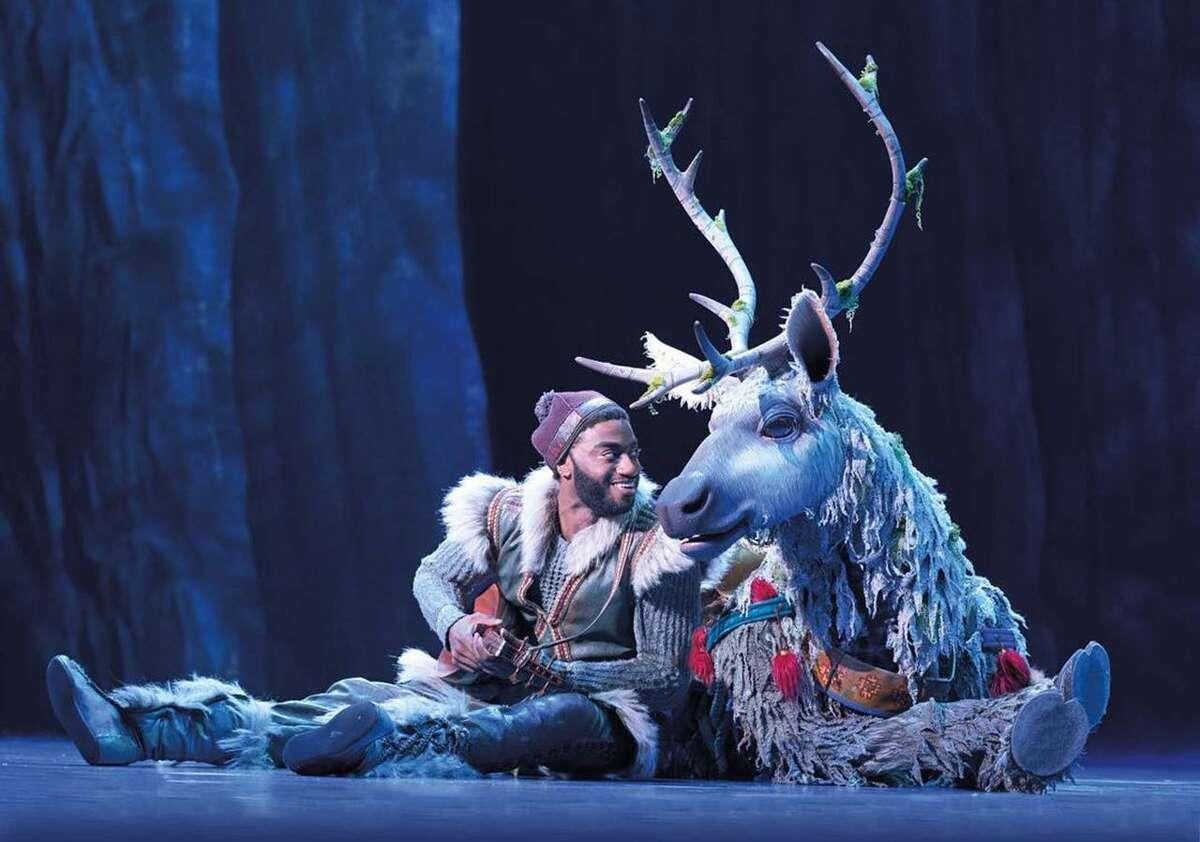 "Former New Canaan High School student Jelani Alladin starred in Broadway's ""Frozen."""