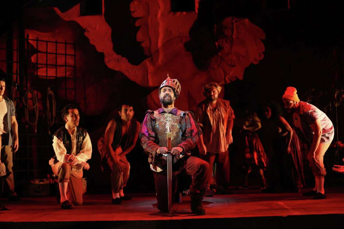 """The Westport Country Playhouse's production of """"Man of La Mancha."""""""