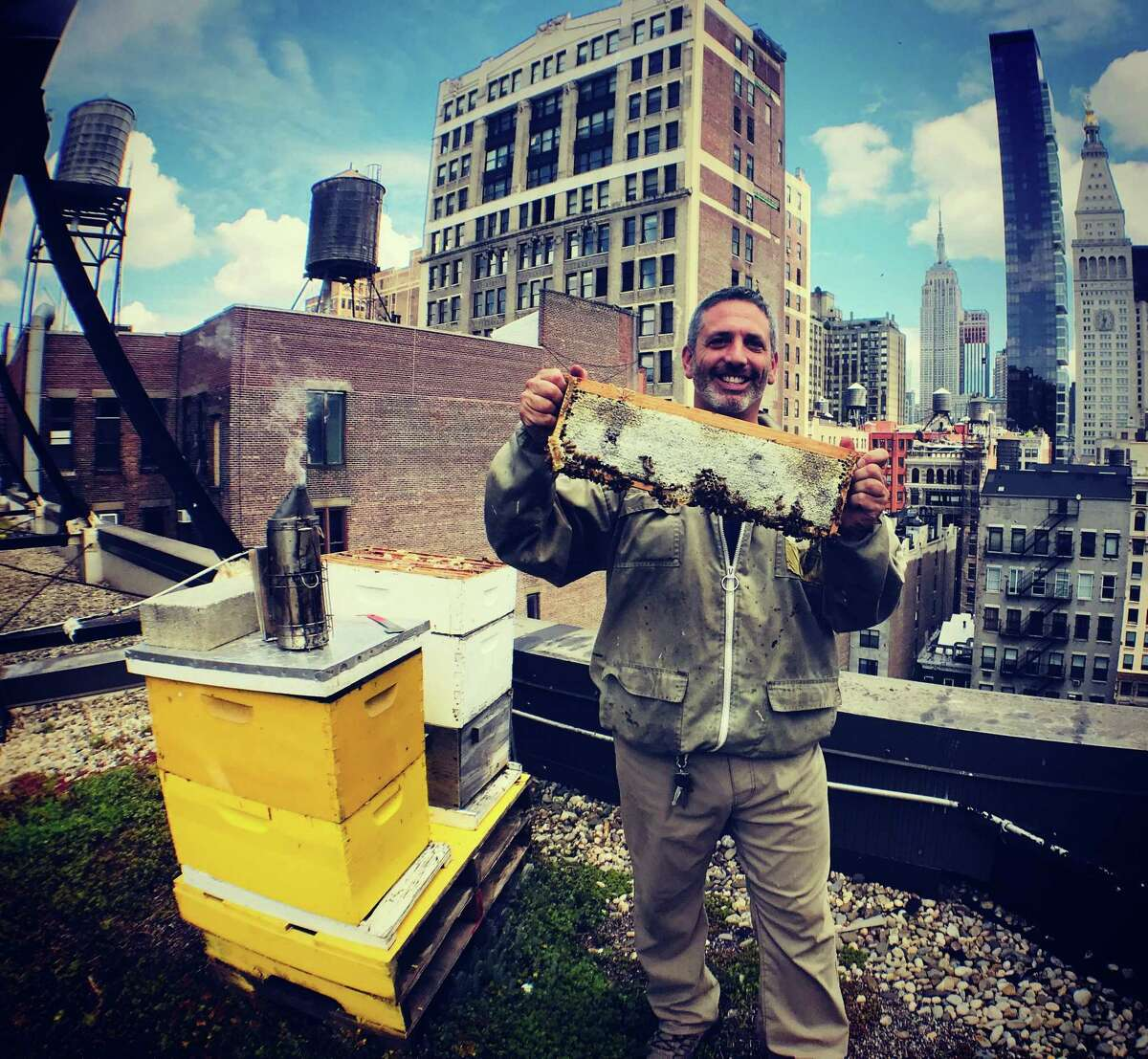 Norwalk's Andrew Coté is a fourth generation beekeeper and author who recently published his memoir