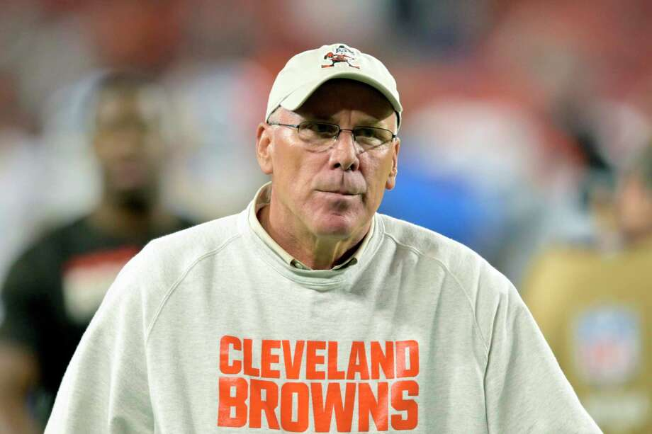 John Dorsey, UConn's leader in single season and career tackles and former GM of two NFL teams, is on the College Football Hall of Fame ballot. Photo: David Richard / Associated Press / Copyright 2019 The Associated Press. All rights reserved.