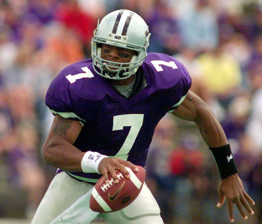 Former Kansas State quarterback Michael Bishop is a nominee for the College Football Hall of Fame. Photo: CLIFF SCHIAPPA, Staff
