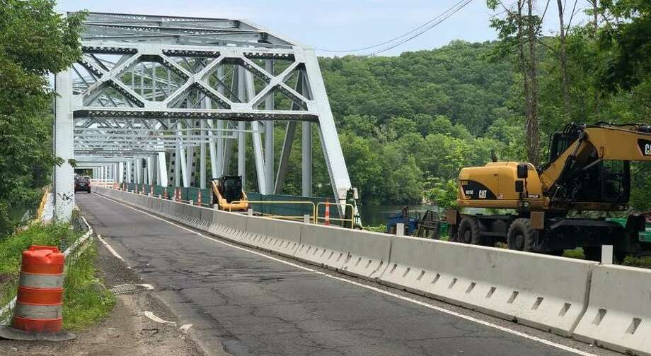 Route 133 bridge will be closed from 10 p.m. Friday until 5 a.m. Sunday for ongoing rehabilitative work. Photo: Contributed Photo