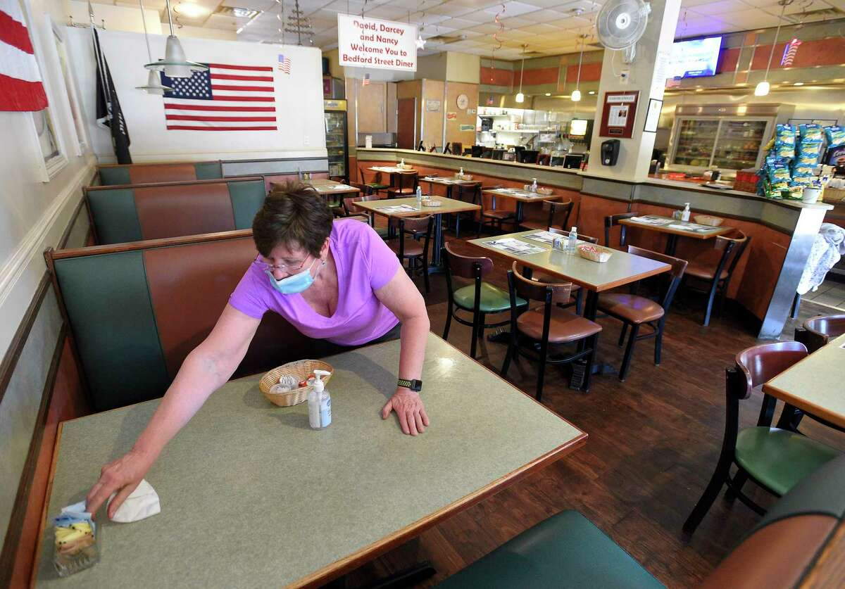 4. Bring your face mask!Although you aren't required to wear a mask while sitting down at your table (that'd make sipping and snacking a bit challenging) most restaurants do require that you wear your mask before entering the restaurant, and anytime you are not sitting at your table. This includes the walk to and from the door to your table and trips to the restroom to protect all those beyond your own party, and to protect the restaurant staff walking with you to your table or serving food and drinks around you.