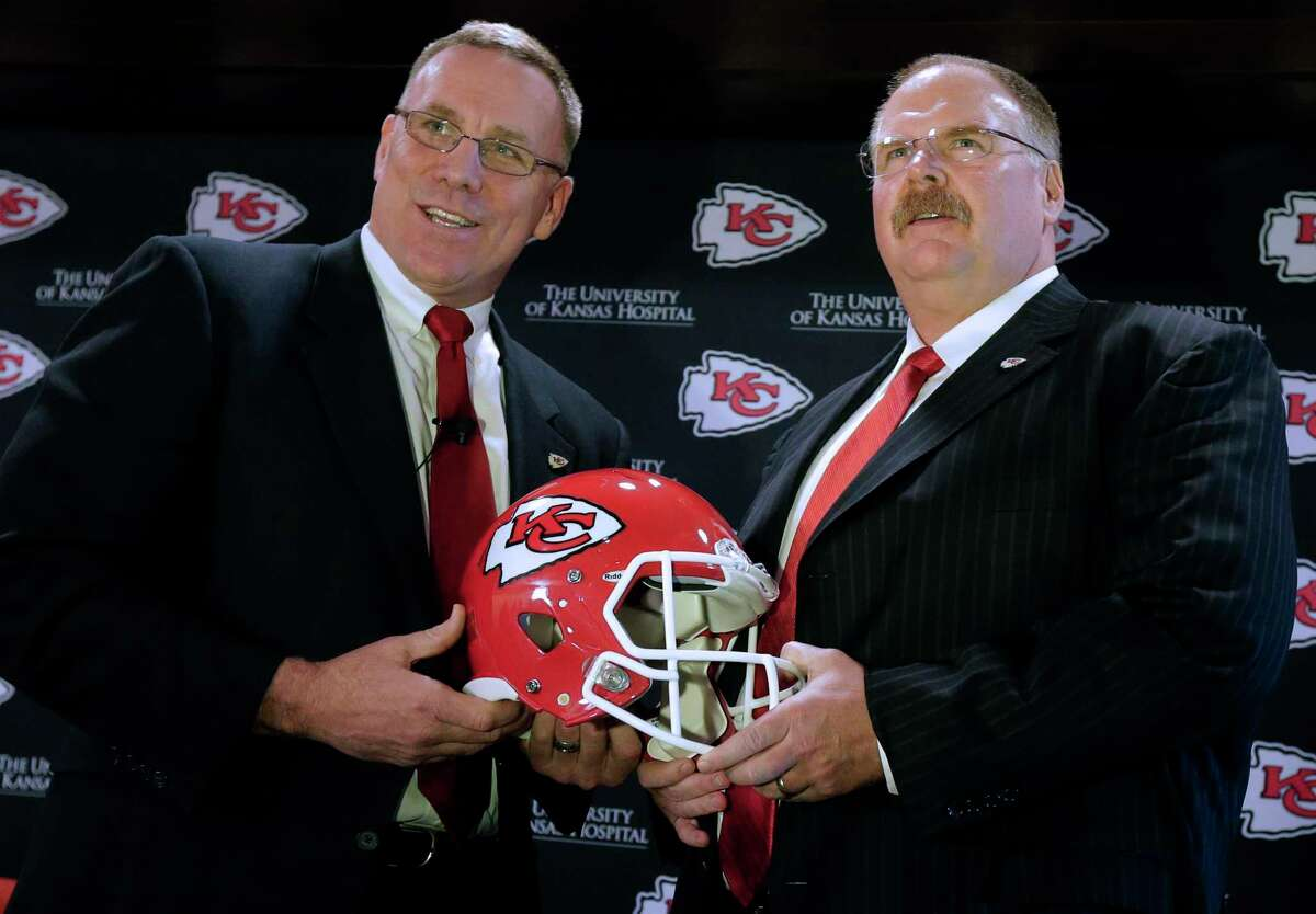 John Dorsey, left, UConn's leader in single season and career tackles and former GM of two NFL teams, is on the College Football Hall of Fame ballot.