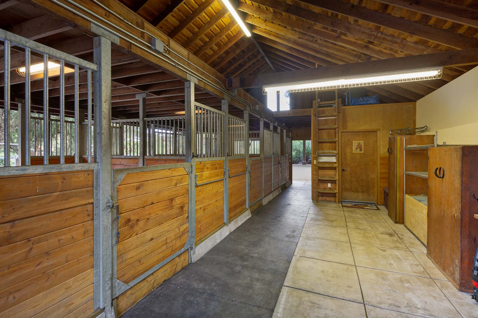 The equestrian facilities are a major draw here. The dressage arena is