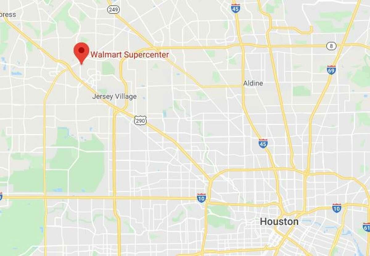 A man fled after discharging a gun inside a Walmart in northwest Harris County, deputies said.