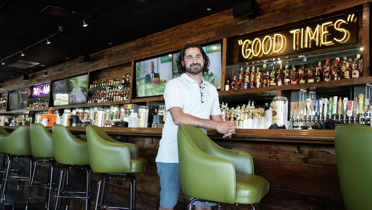 Russ Morgan is getting ready to open a second location of Kirby Ice House, at 1015 Gessner Road, which boasts the longest bar in Texas, Friday, June 12, 2020, in Houston. The original Kirby Ice House is a bar in Upper Kirby known for its huge yard and laid back vibe. The second location is across the Katy Freeway from Memorial City Mall.