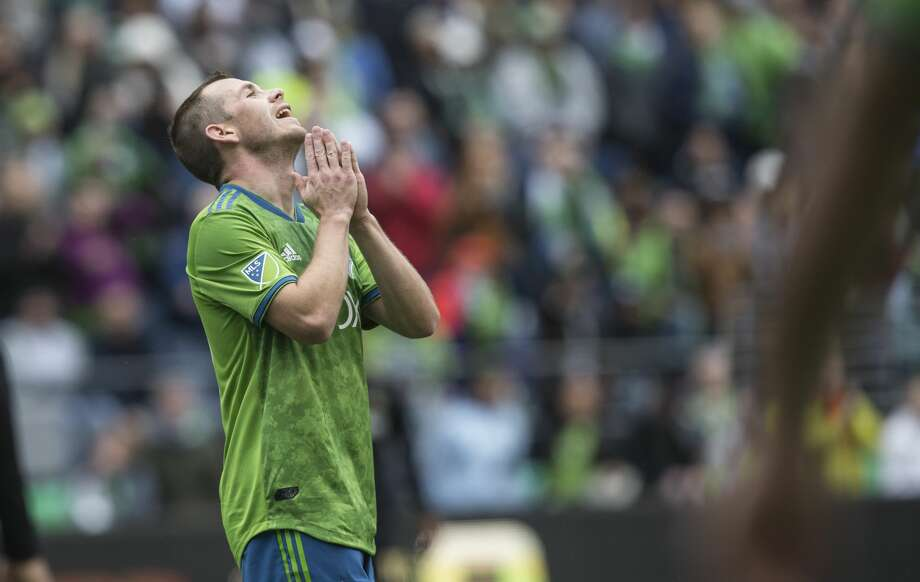 Seattle Sounders FC midfielder Harry Shipp is retiring from professional soccer, the club announced Tuesday. Photo: Stephen Brashear/Getty Images / 2018 Getty Images