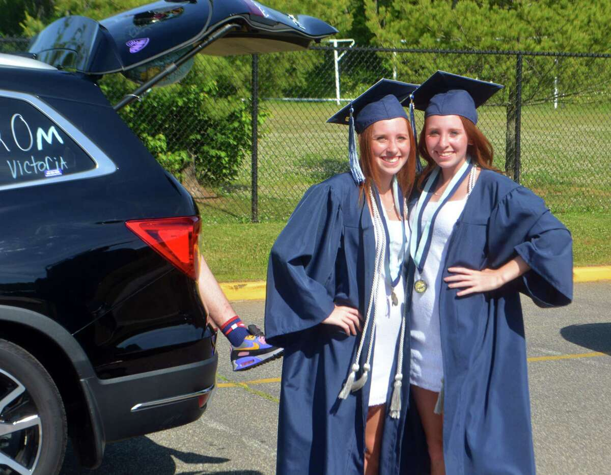 Middletown High School graduated the class of 2020 Tuesday afternoon in a drive-by ceremony.