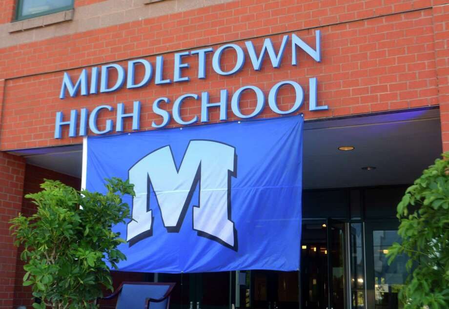 Middletown High School. Photo: Cassandra Day / Hearst Connecticut Media /
