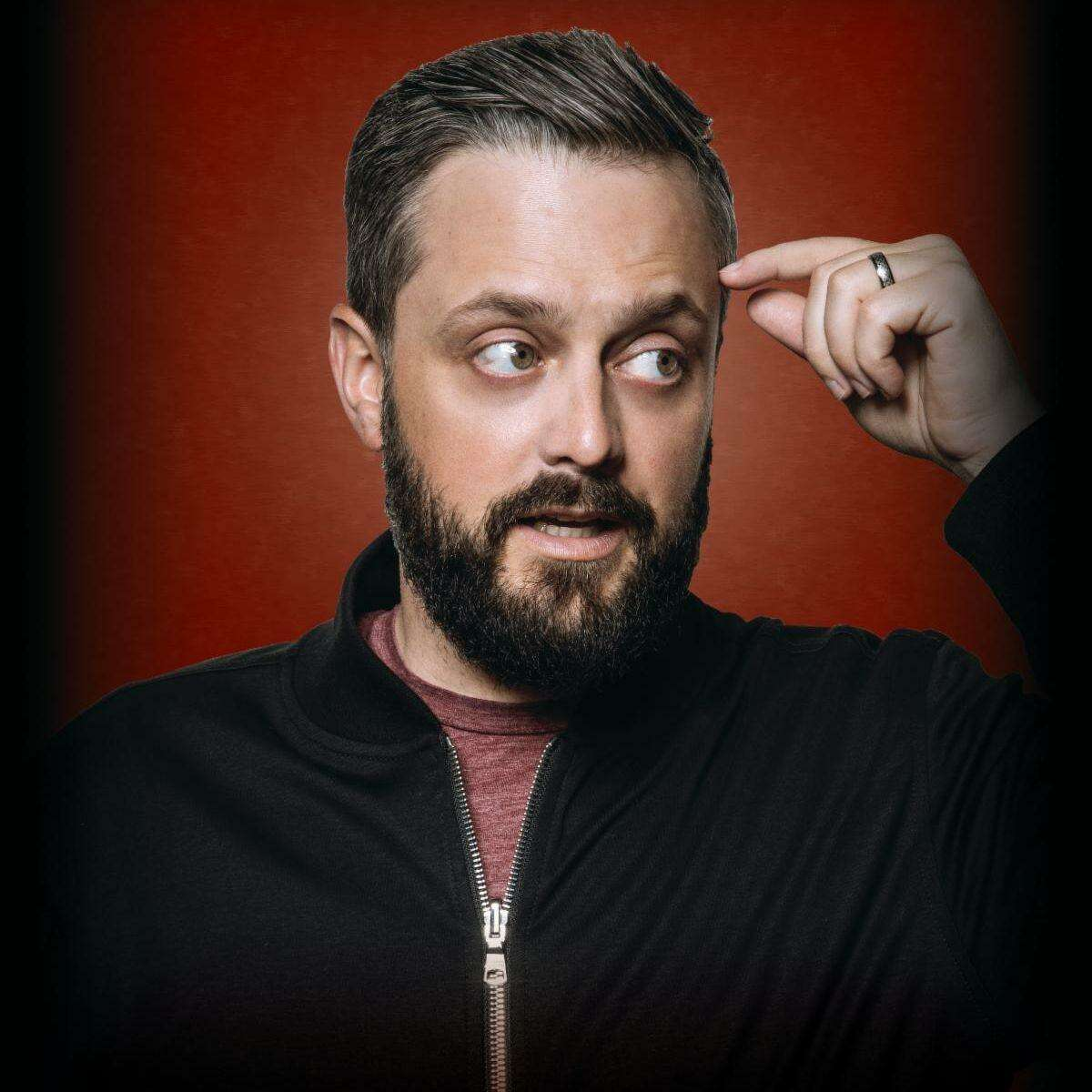 """Comedian Nate Bargatze's """"Good Problem To Have"""" Tour stop at the Warner Theatre has been rescheduled to Sept. 18, 2021."""