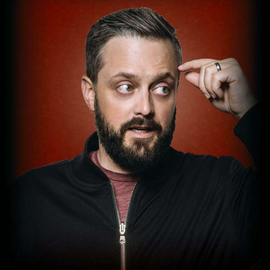 """Comedian Nate Bargatze's """"Good Problem To Have"""" Tour stop at the Warner Theatre has been rescheduled to Sept. 18, 2021. Photo: Contributed Photo /"""