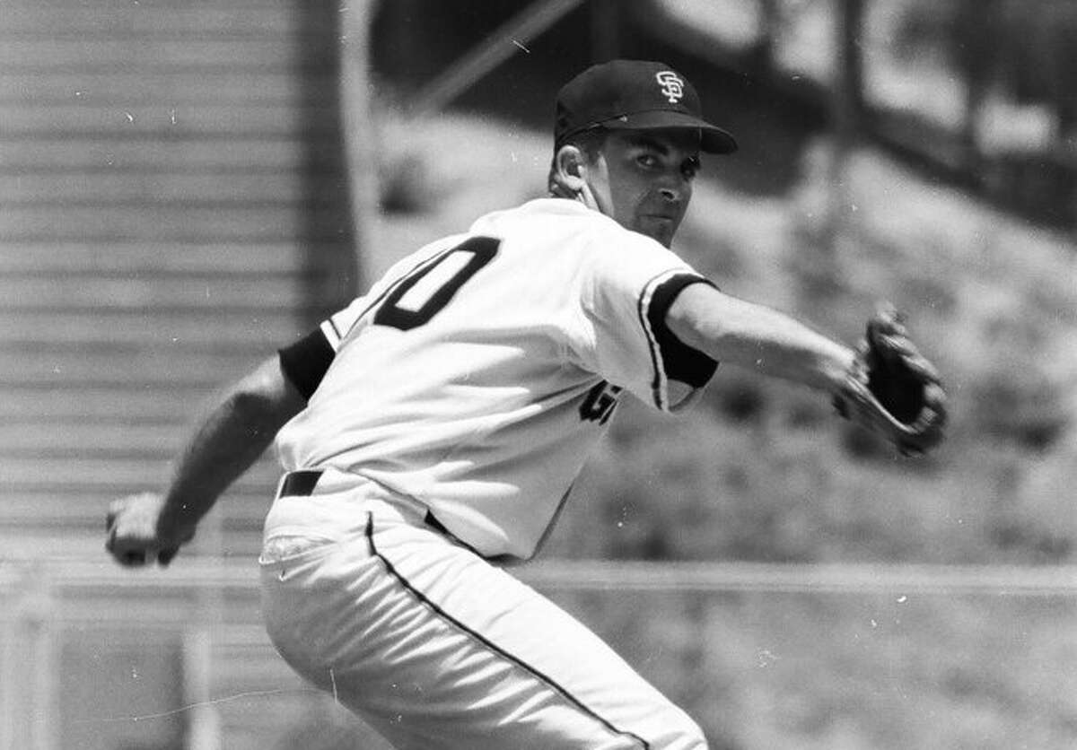 Mike McCormick went 22-10 with a 2.85 ERA in winning the 1967 NL Cy Young Award.
