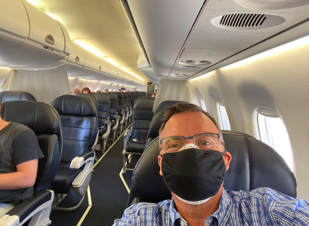 The odds of catching COVID-19 on a plane might not be what you think