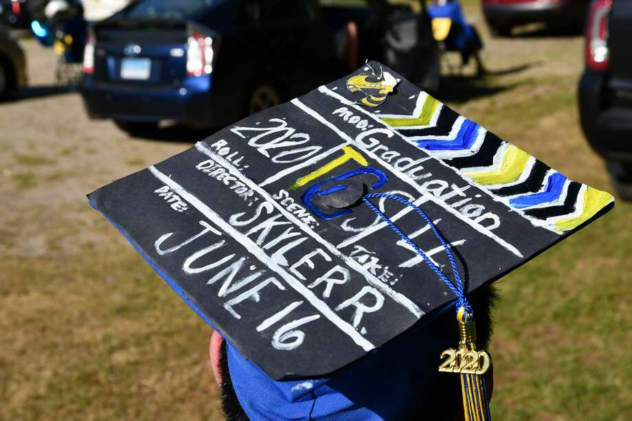 The Gilbert School of Winsted, held its  125th Commencement of the Graduating Class of 2020 at The Pleasant Valley Drive In on June 16th, 2020. Photo: Lara Green- Kazlauskas/ Hearst Media
