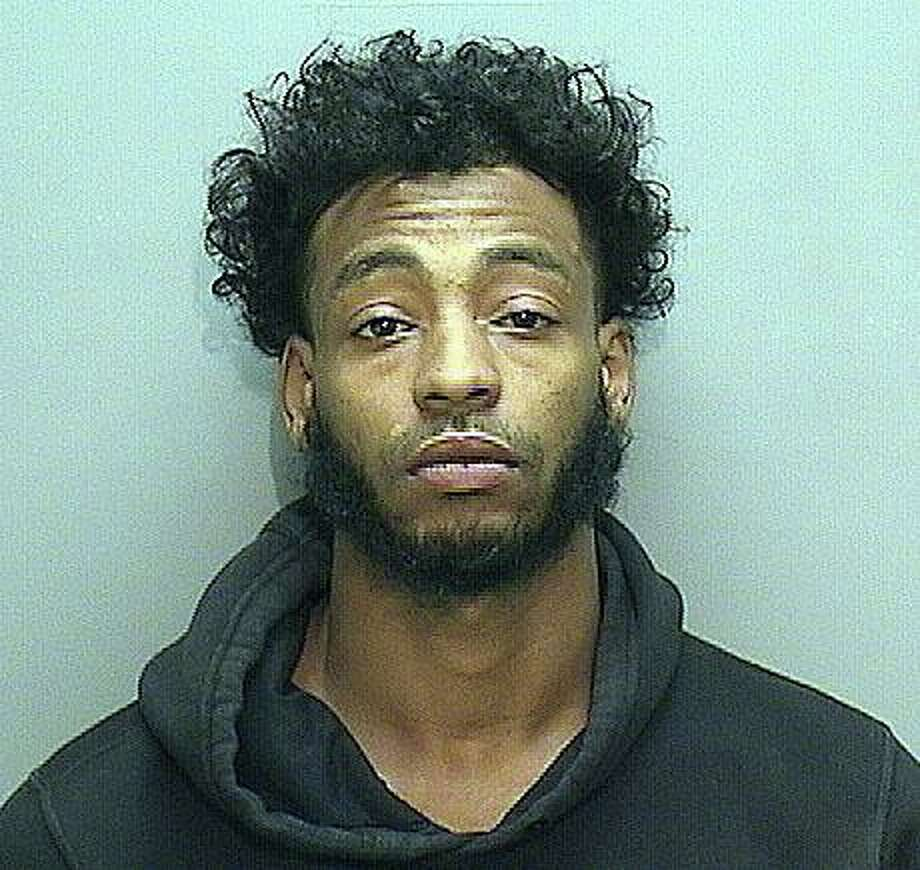 Tevin Perry, 25, of Traverse Square in Middletown, was arrested and charged with murder, carrying a dangerous weapon and tampering with evidence. He is accused in the stabbing death of Andrew Brown on June 7, 2020. Photo: Middletown Police Photo