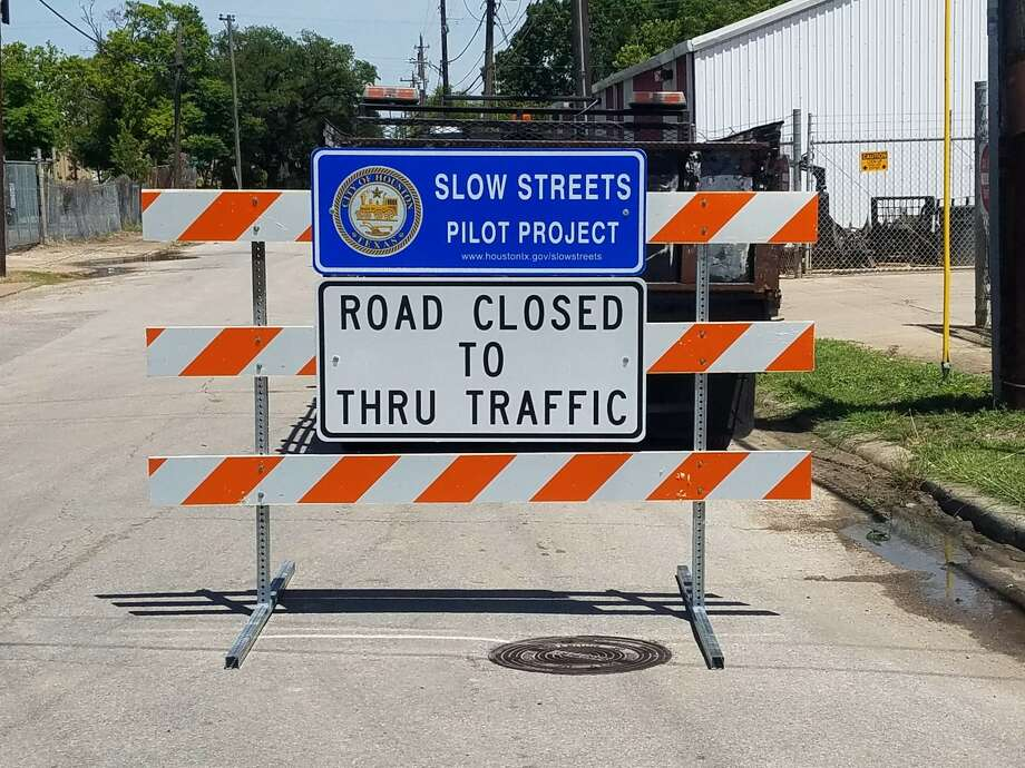 City of Houston launches a new Slow Streets project in Eastwood neighborhood. Photo: Courtesy: City Of Houston