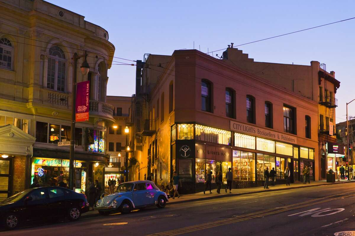 San Francisco's iconic City Lights bookstore has reopened for in-store business.