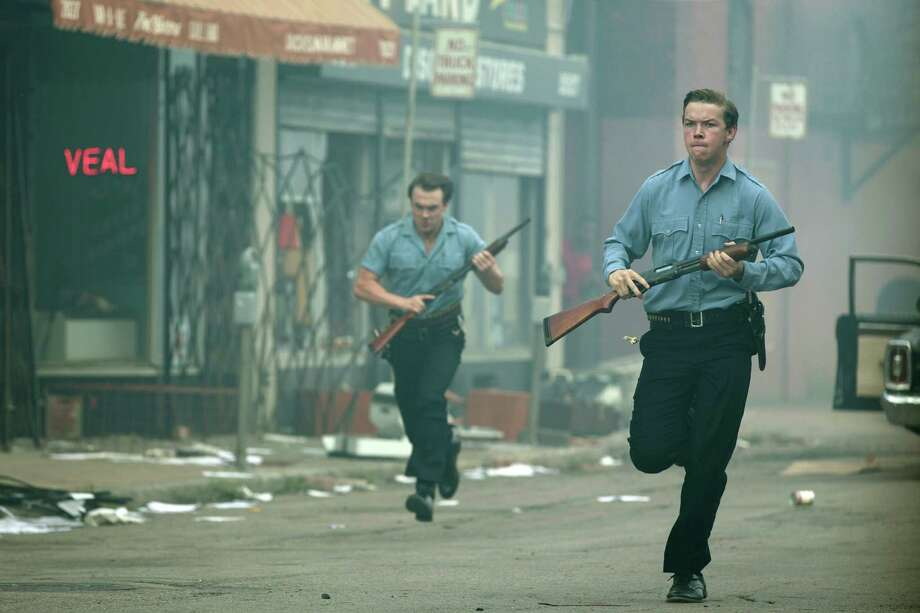 """This image released by Annapurna Pictures shows Will Poulter, right, in a scene from """"Detroit."""" (Francois Duhamel/Annapurna Pictures via AP) Photo: Francois Duhamel / Annapurna Pictures / Submitted Photo"""