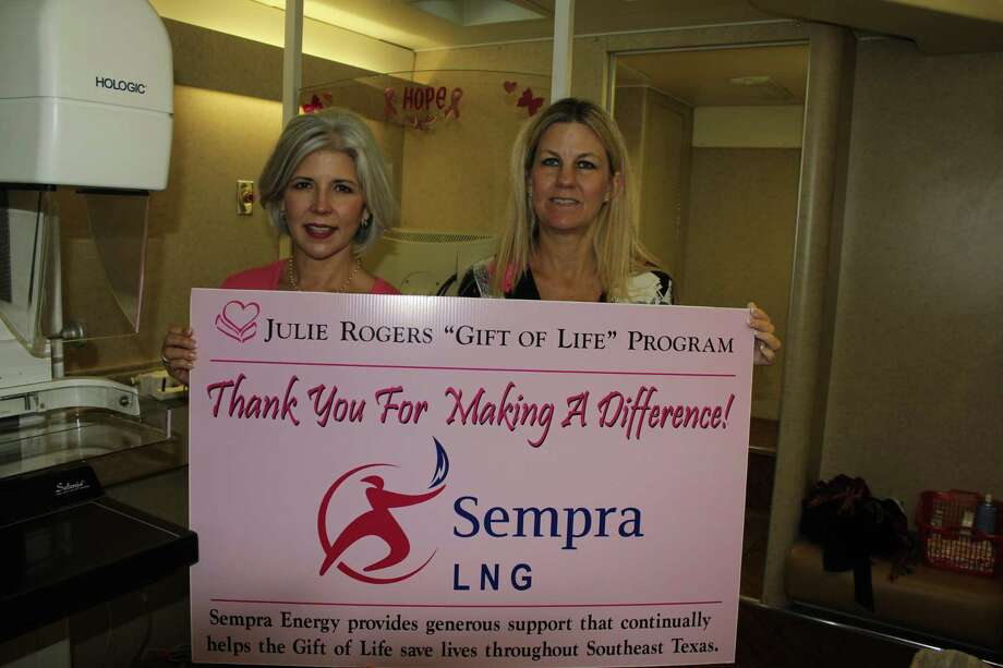 Gift of Life received a $20,000 grant from the Sempra Energy Foundation in response to the coronavirus to support the organization's mission of providing preventative cancer screenings and health education. Photo: Courtesy Of Sempra LNG