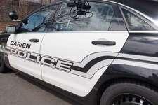 A Darien police car.