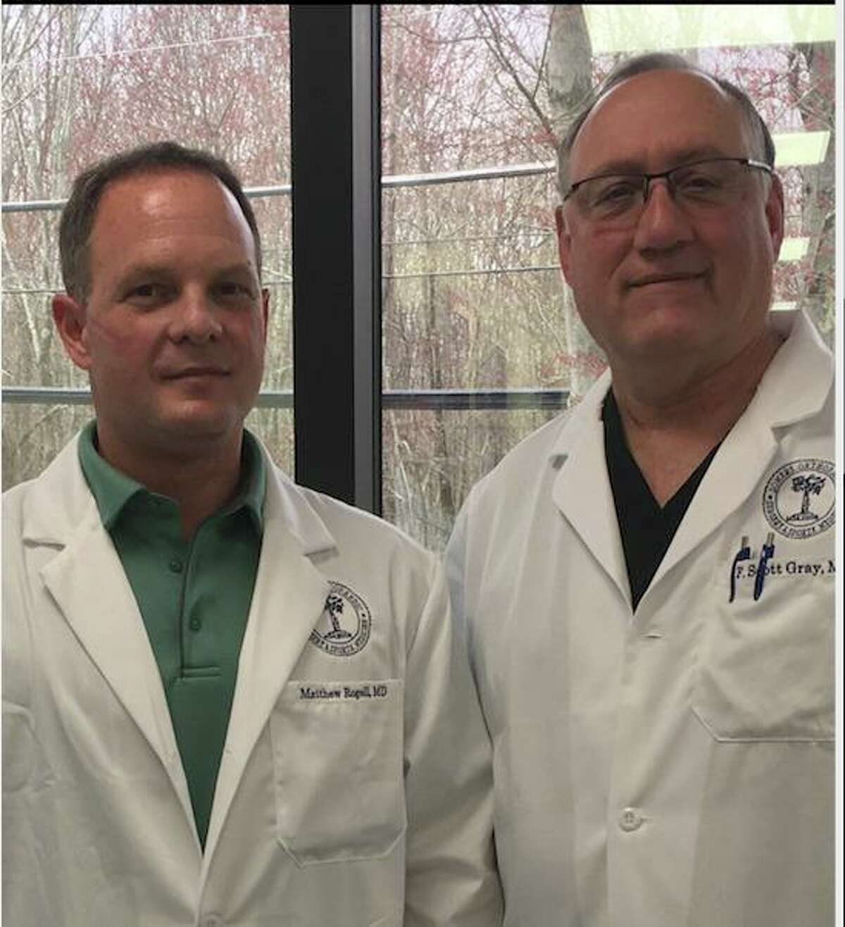 Dr. F. Scott Gray and Dr. Matthew Rogell