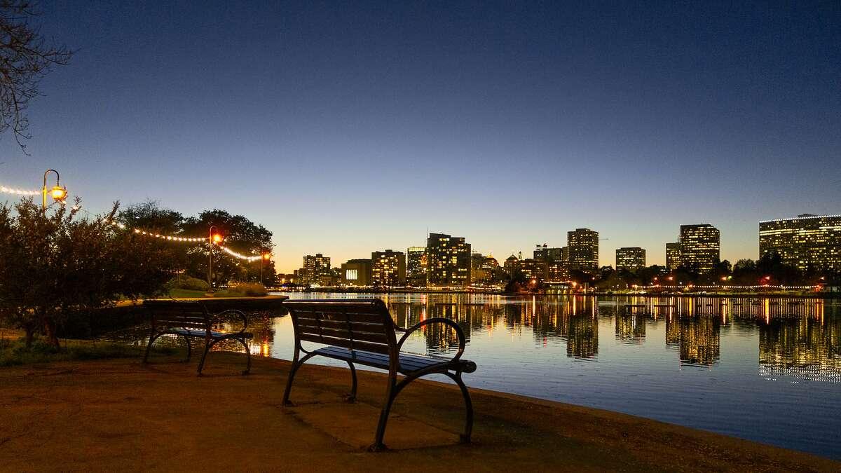 Lake Merritt, Oakland, CA.